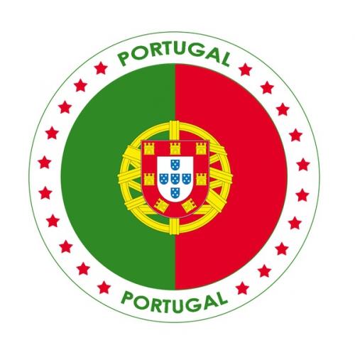 Portugal thema bierviltjes Shoppartners Beste kwaliteit