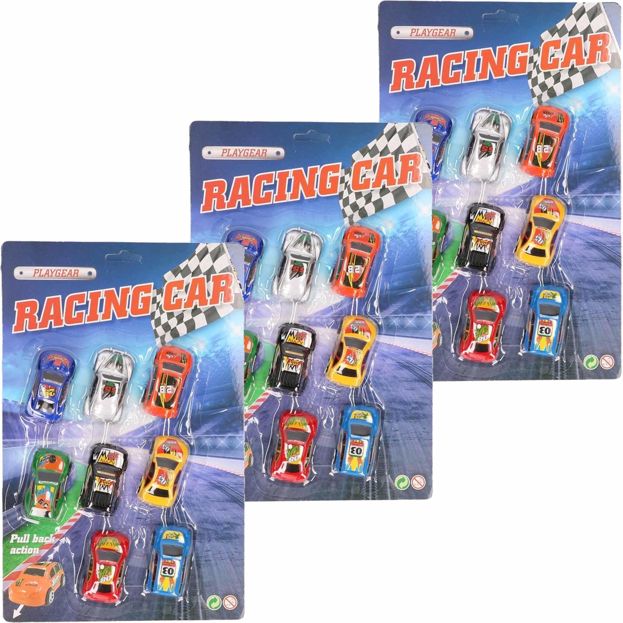 Geen Race auto setje van 24 stuks Speelgoedvoertuigen