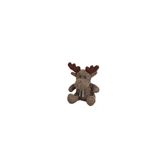 Dit kleine rendier kerstknuffeltje is bruin van kleur en heeft geen harde onderdelen waardoor deze niet ...