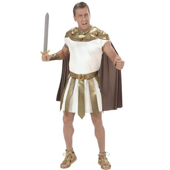 Romeins kostuum voor heren. dit romeinse kostuum voor heren bestaat uit een gewaad, een riem, ...