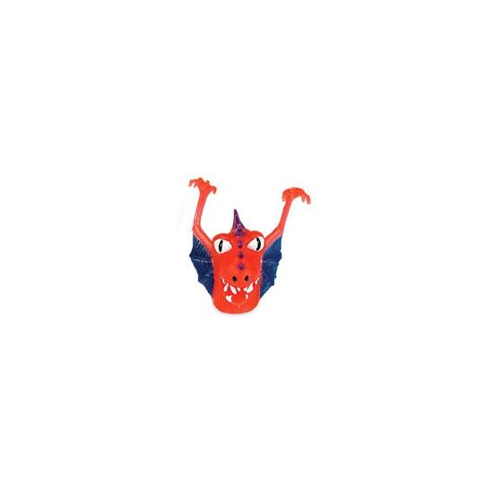 Rood blauw monster vingerpopje Geen Premier