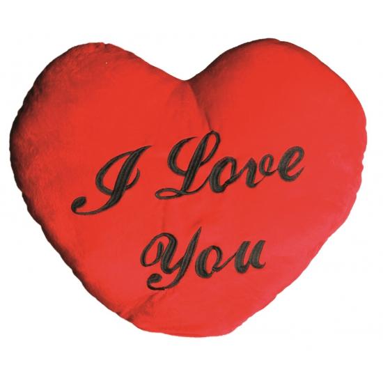 Kussens Geen Rood I Love You kussen 60 cm