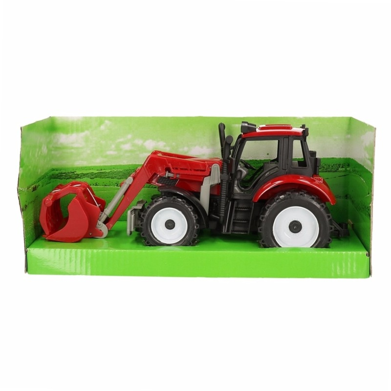 Roode tractor voor kinderen Geen Premier
