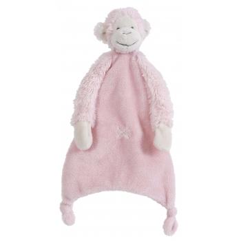 Roze tuttel aap 28 cm Happy Horse Baby kado knuffels