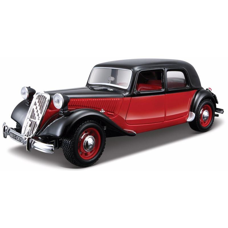 Speelgoedvoertuigen Bburago Schaalmodel Citroen Traction Avant 1 24