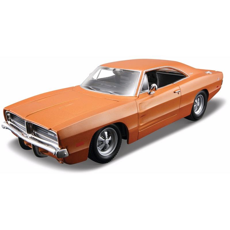 Speelgoedvoertuigen Maisto Schaalmodel Dodge Charger R T 1969 1 18
