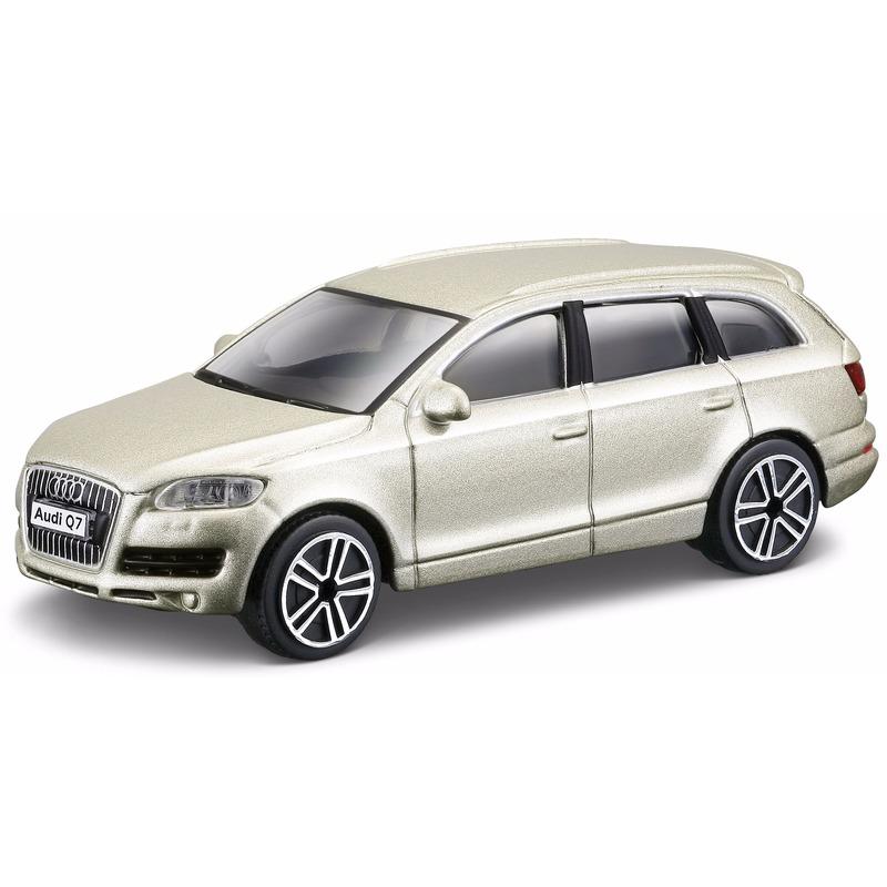 Schaalmodel goude Audi Q7 2011 Bburago gaafste producten