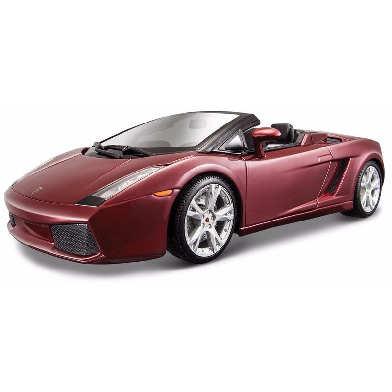 Speelgoedvoertuigen Maisto Schaalmodel Lamborghini Gallardo cabrio 1 18