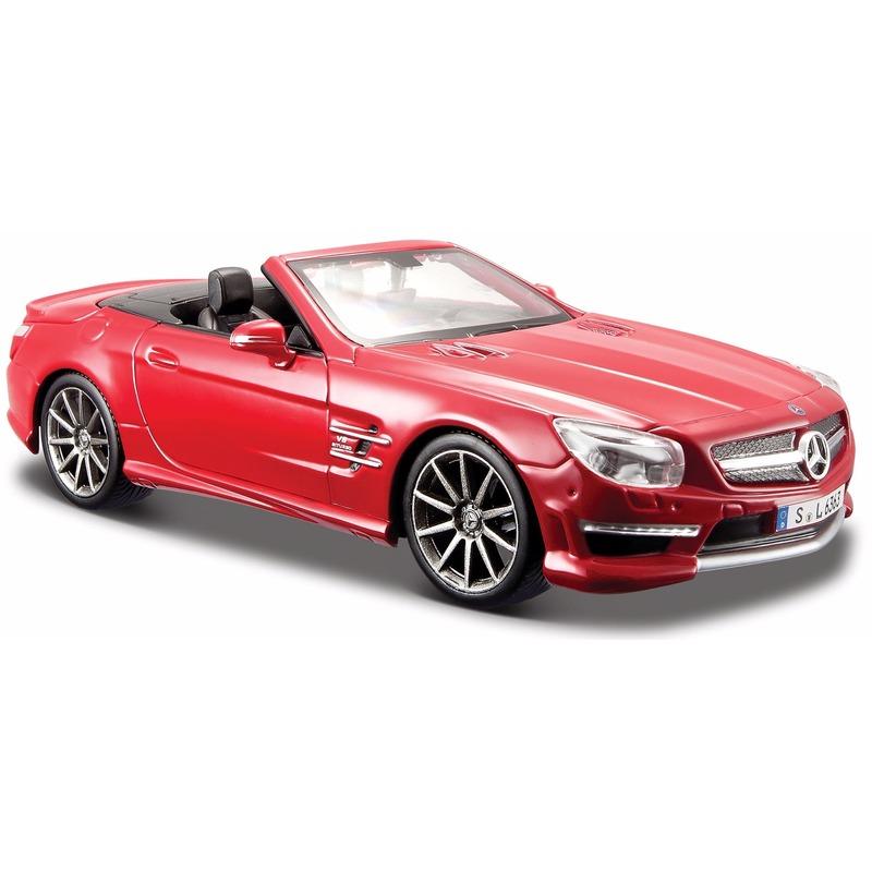 Speelgoedvoertuigen Maisto Schaalmodel Mercedes SL63 AMG 1 24