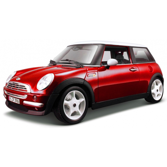 Speelgoedvoertuigen Maisto Schaalmodel Mini Cooper rood