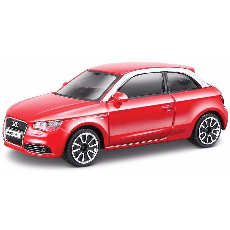 Schaalmodel rode Audi A1 2010 Bburago Speelgoedvoertuigen