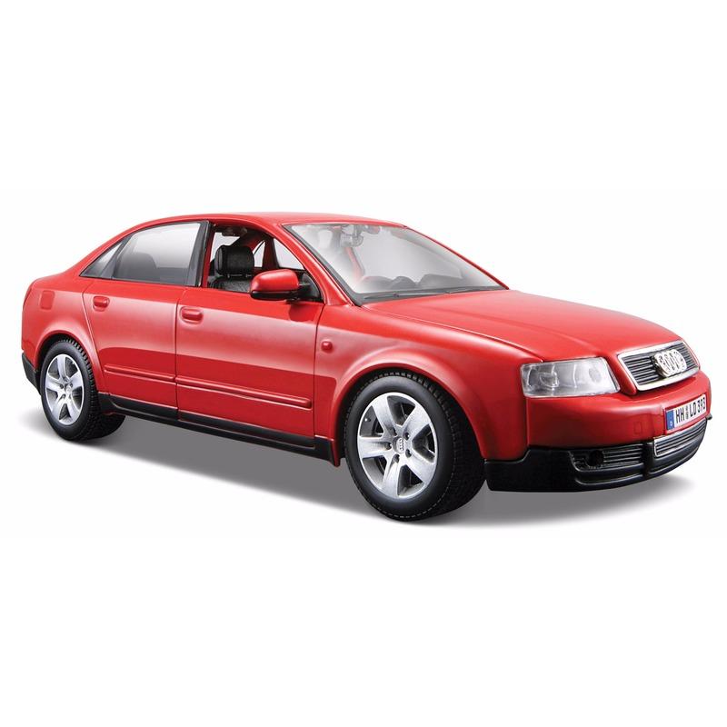 Speelgoedvoertuigen Schaalmodel rode Audi A4 2008