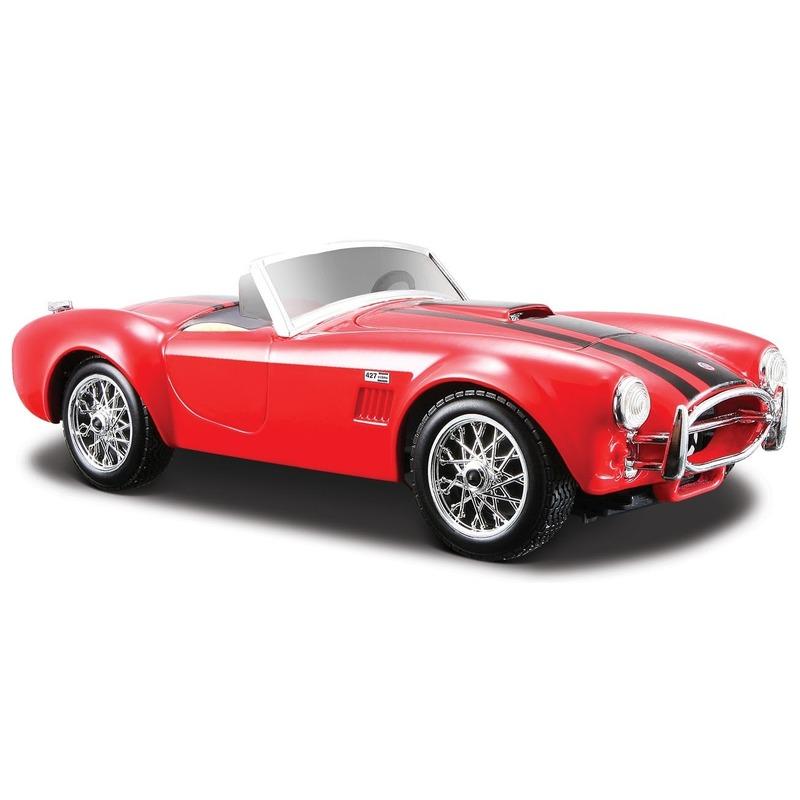 Maisto Schaalmodel Shelby Cobra 427 1 24 Speelgoedvoertuigen