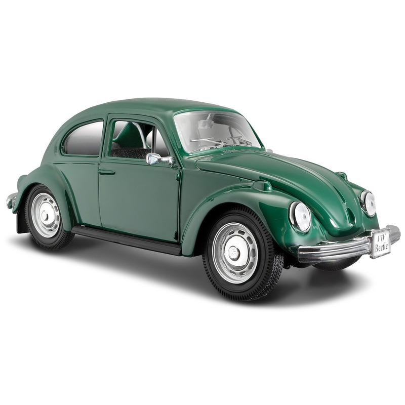Speelgoedvoertuigen Maisto Schaalmodel Volkswagen Kever groen 1 24