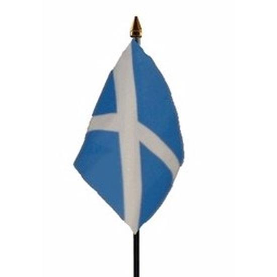 Landen versiering en vlaggen Geen Schotland vlaggetje polyester