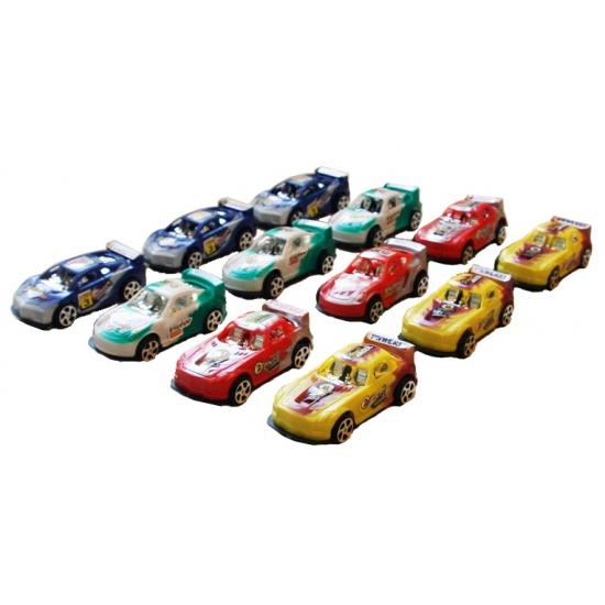 Speelgoedvoertuigen Geen Set van 12 raceautos 8 cm