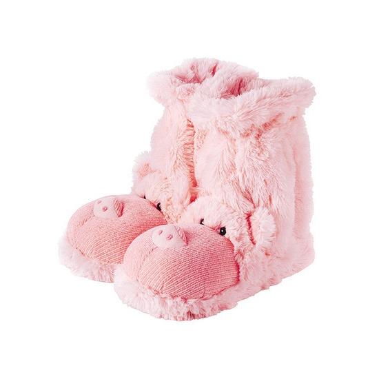 Sloffen en Pantoffels Slof sokken roze varken