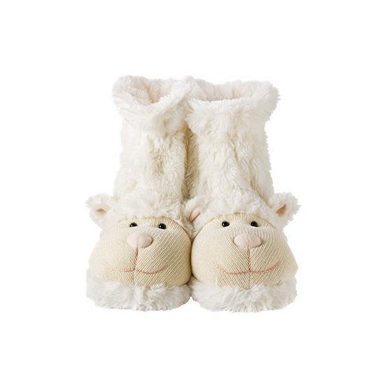 Slof sokken wit lammetje Geen Hoge kwaliteit