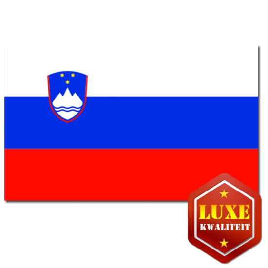 Landen versiering en vlaggen Geen Sloveense vlag goede kwaliteit