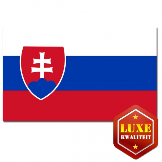 Landen versiering en vlaggen Geen Slowaakse vlaggen goede kwaliteit