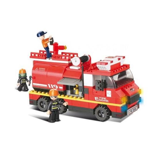 Sale tot 7% Korting Sluban bouwstenen brandweerwagen