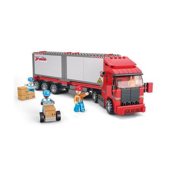 Sluban container vrachtwagen Sluban