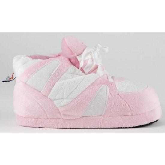 Sloffen en Pantoffels Geen Sneaker meisjes pantoffels roze wit