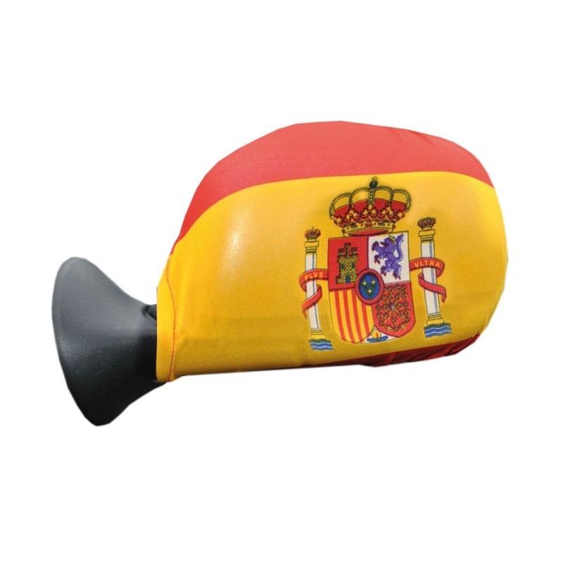 Geen Spanje hoesjes autospiegel Landen versiering en vlaggen