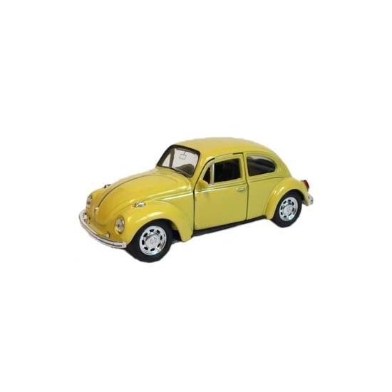 Speelauto Volkswagen Kever geel 12 cm Geen voordeligste prijs
