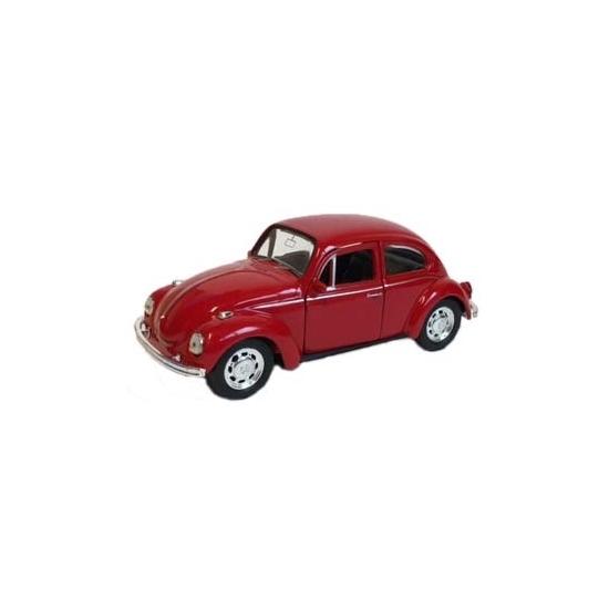 Speelgoedvoertuigen Speelauto Volkswagen Kever rood 12 cm