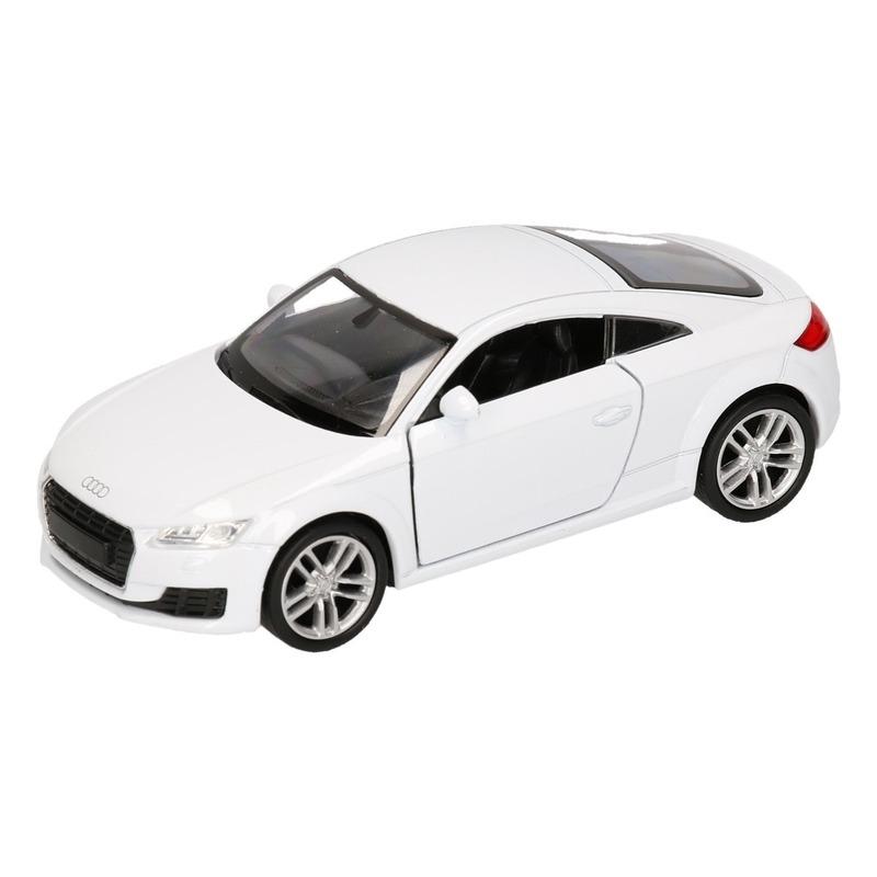 Speelgoedvoertuigen Audi Speelgoed Audi 2014 TT Coupe wit autootje 12 cm