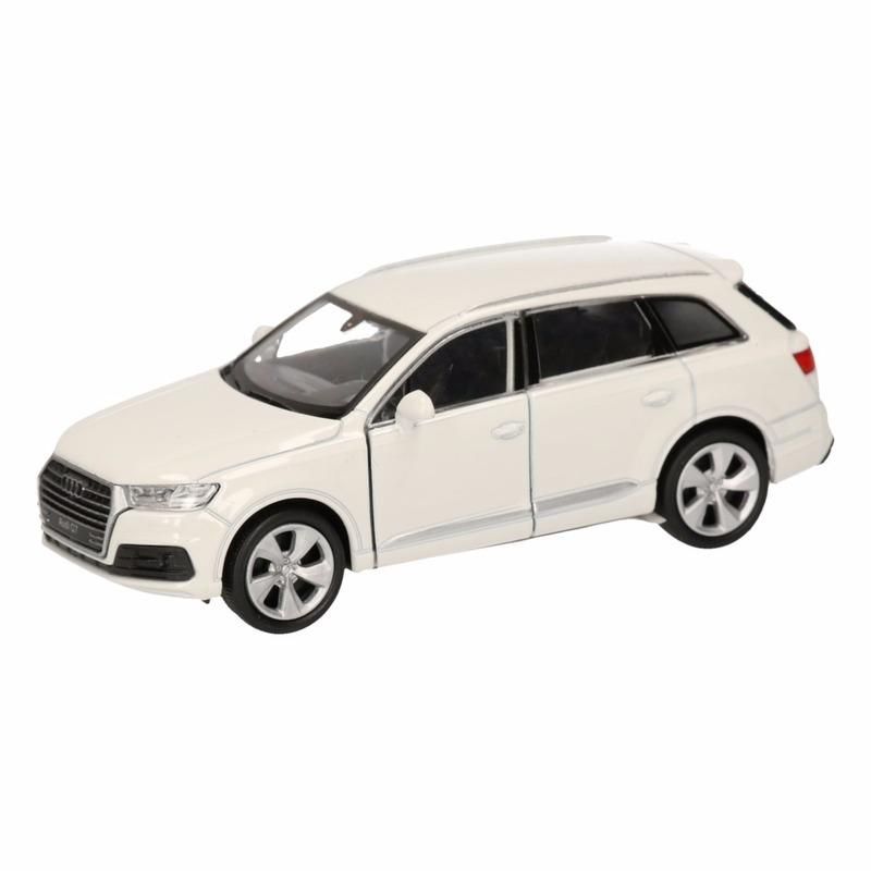 Audi Speelgoed Audi Q7 wit autootje 12 cm Speelgoedvoertuigen