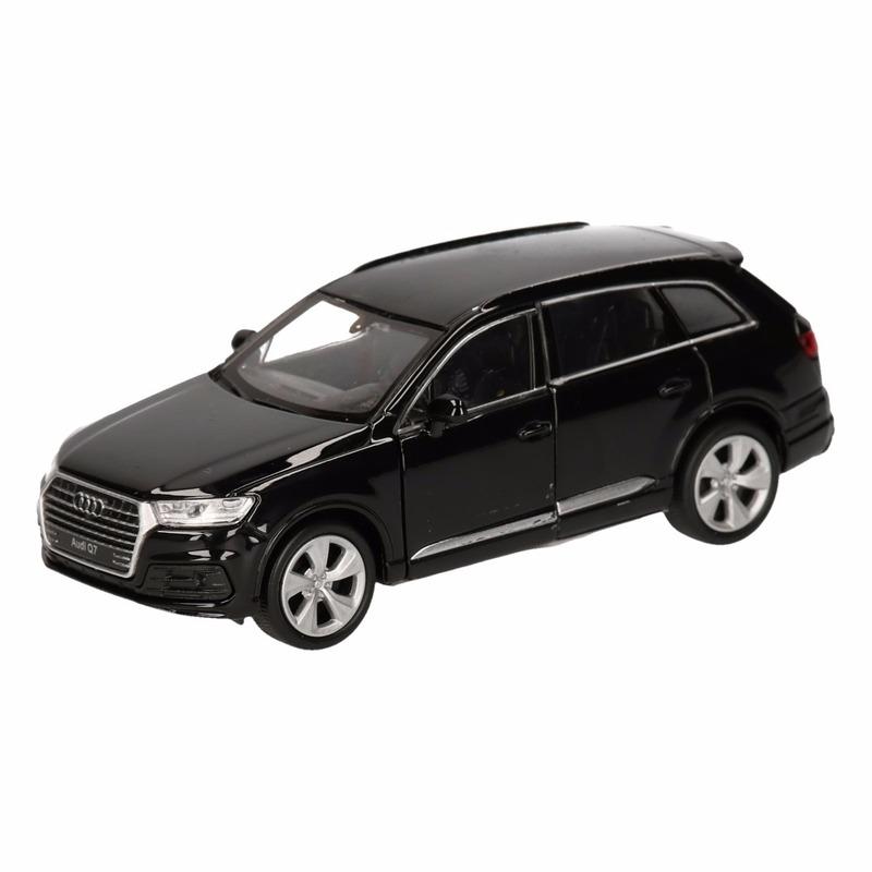 Speelgoed Audi Q7 zwart autootje 12 cm Audi goedkoop online kopen