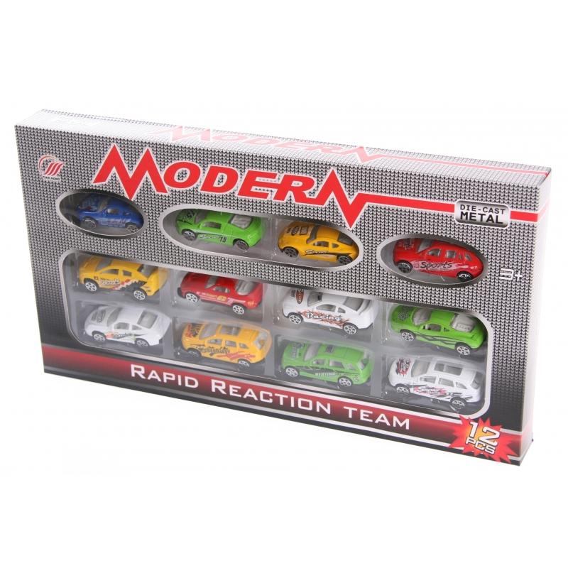 Speelgoed auto 12 stuks Geen Het leukste