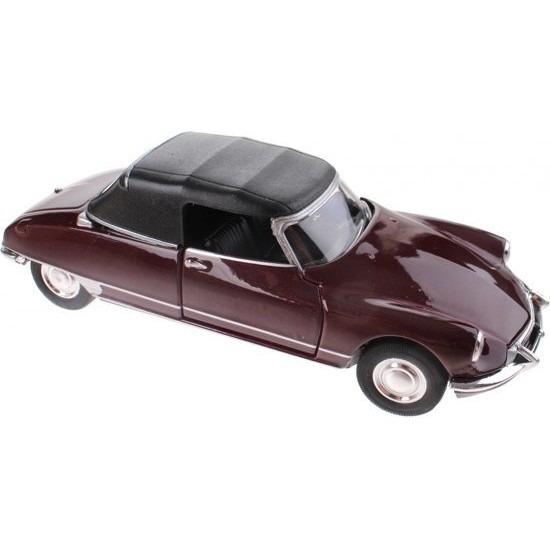 Welly Speelgoed auto Citroen DS19 bordeaux rood autootje 1 36 Speelgoedvoertuigen