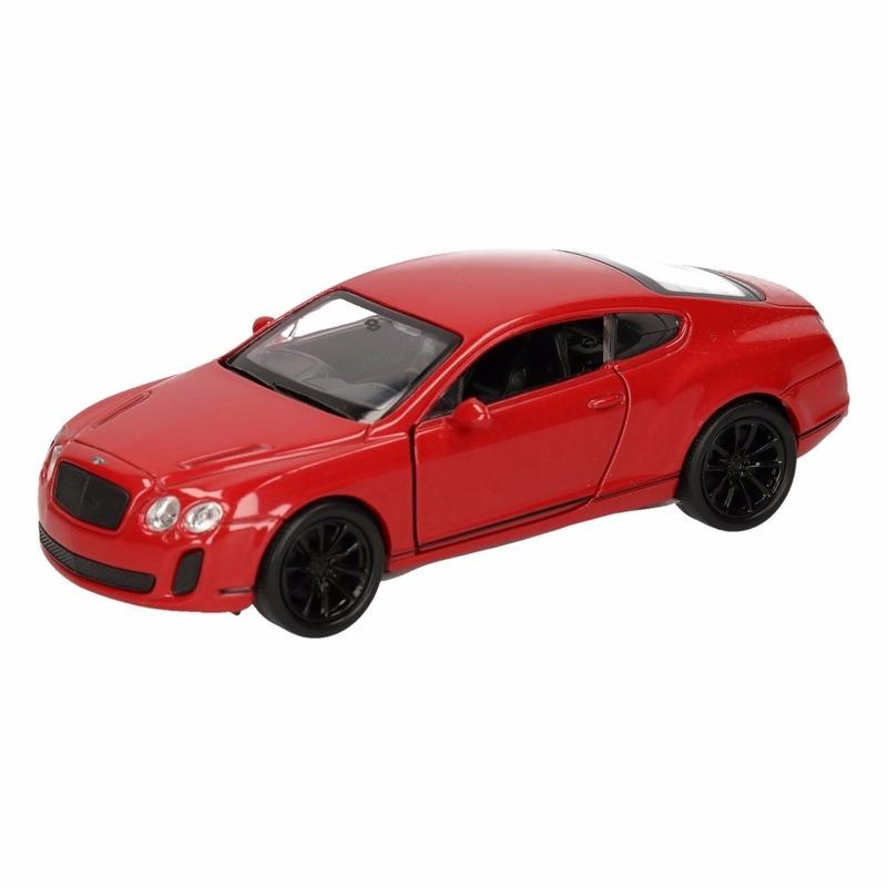 Speelgoed Bentley Continental Supersports rood Welly autootje 12 cm Geen gaafste producten