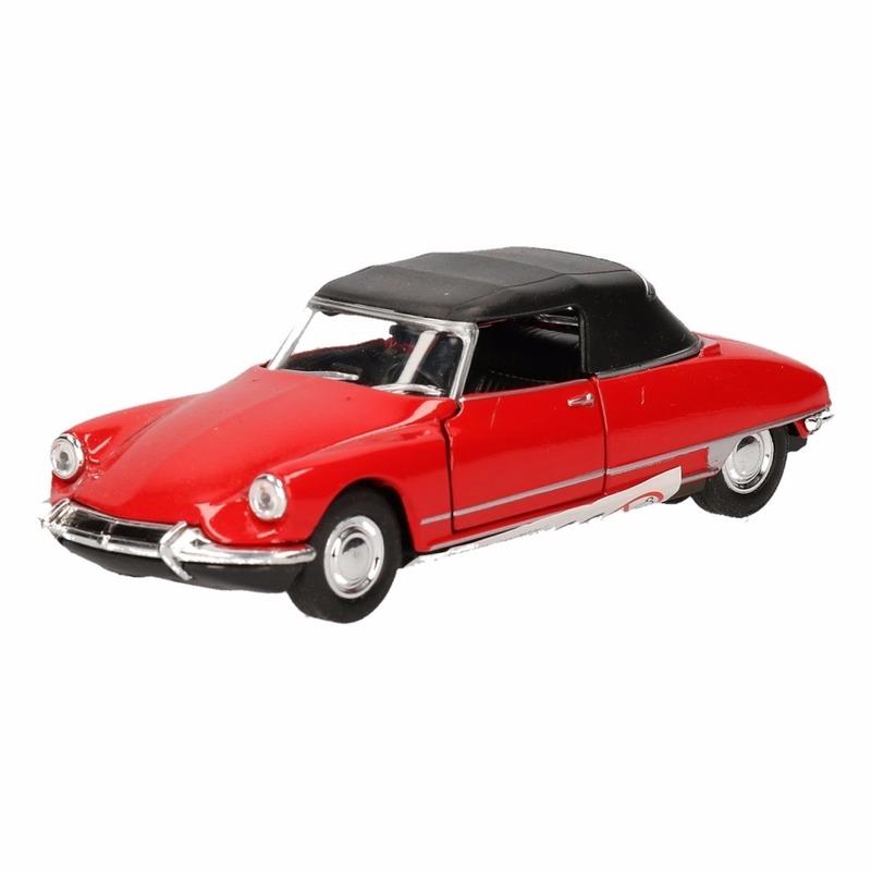 Welly Speelgoed Citroen DS19 rood autootje 1 36 Speelgoedvoertuigen