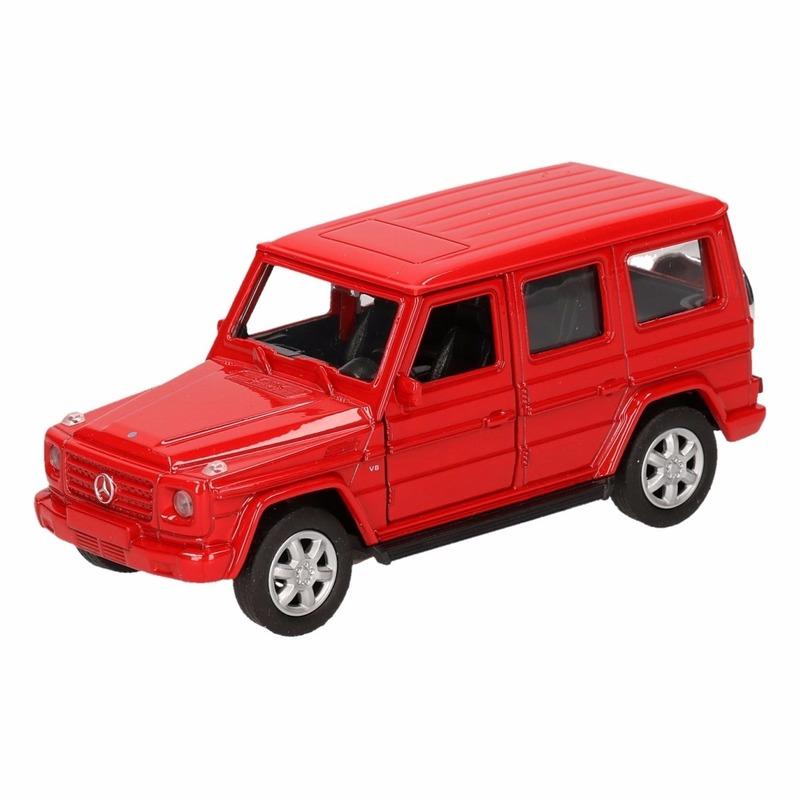 Mercedes Speelgoed Mercedes Benz G Class rood 12 cm Speelgoedvoertuigen