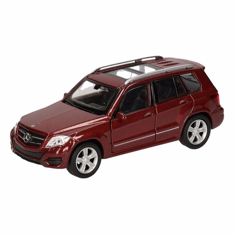 Speelgoedvoertuigen Mercedes Speelgoed Mercedes Benz GLK bruin autotje 12 cm