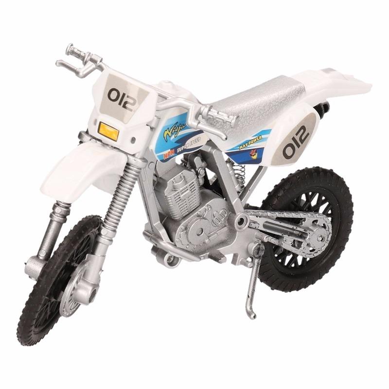 Speelgoedvoertuigen Speelgoed motoren in het wit