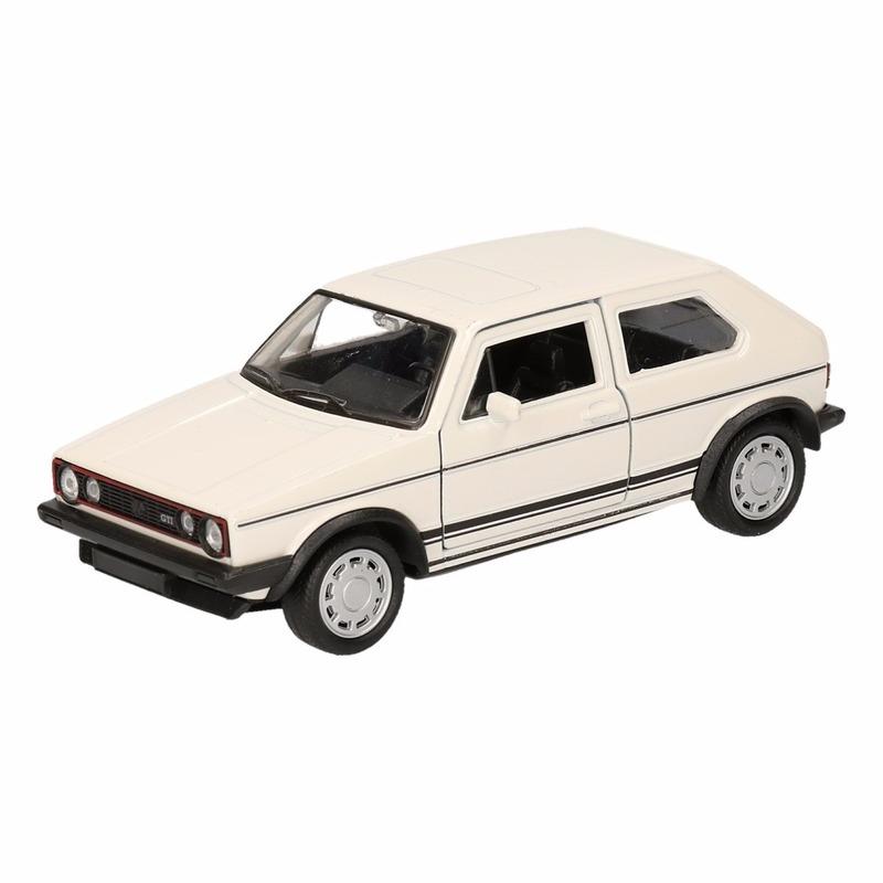 Speelgoed Volkswagen Golf GTI I wit 12 cm Volkswagen laagste prijs