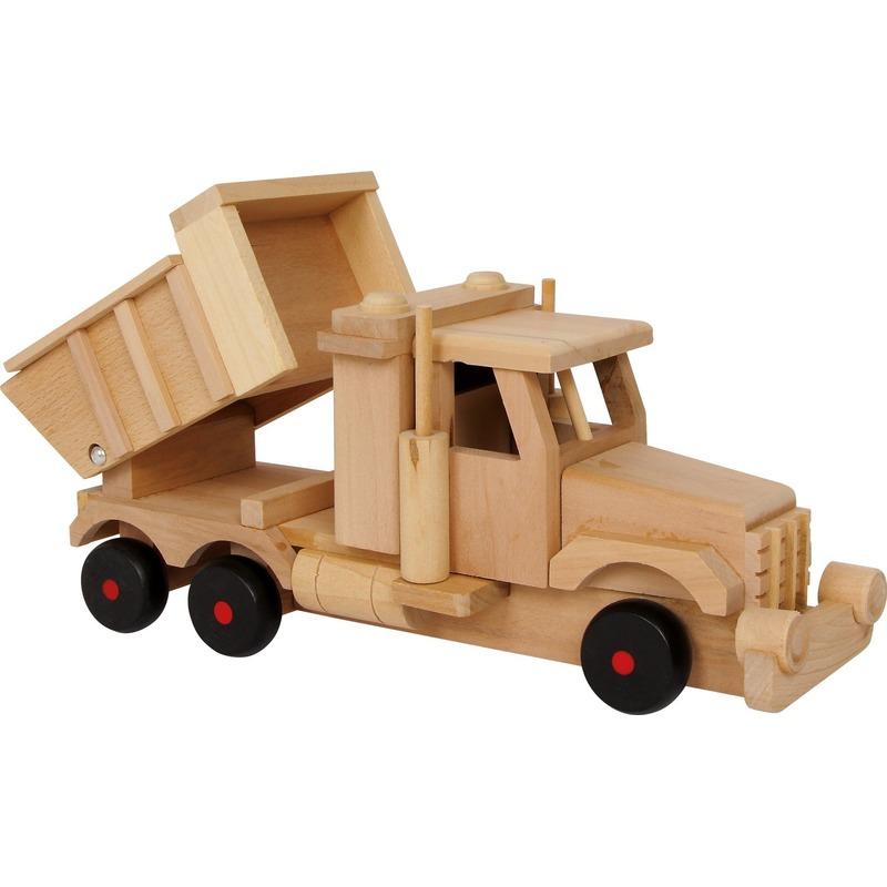 Geen Speelgoed zandwagen van hout Houten speelgoed