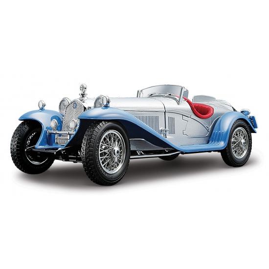 Speelgoedvoertuigen Speelgoedauto Alfa Romeo 8C 2300 Spider zilver
