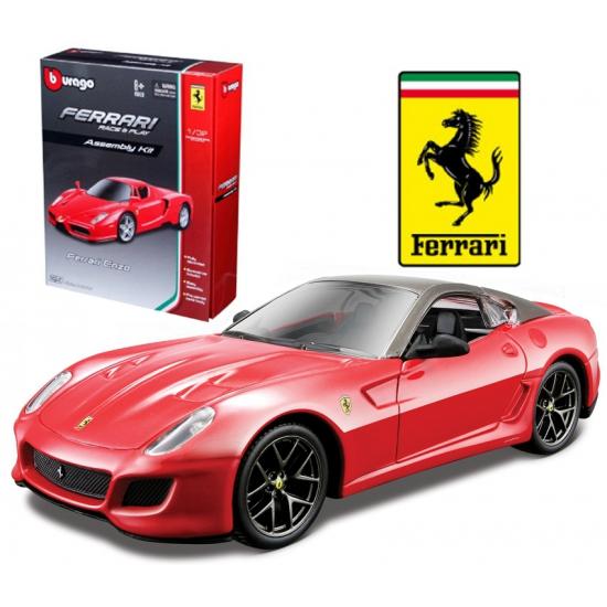 Speelgoedvoertuigen Speelgoedauto Ferrari 599 GTO rood