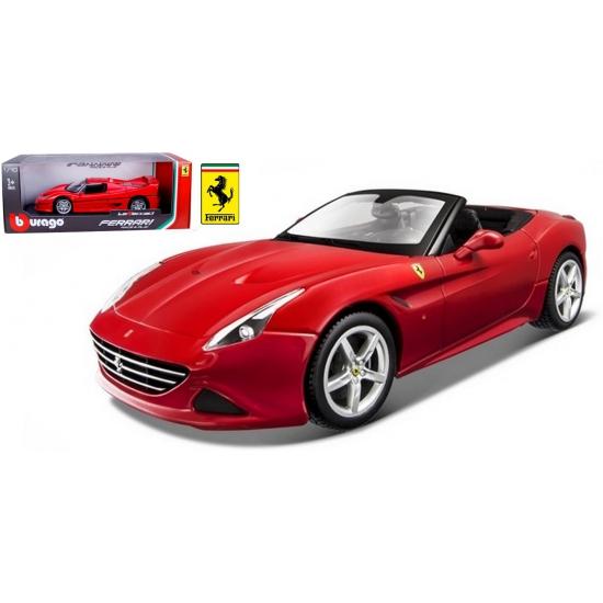 Speelgoedauto Ferrari California T rood Geen Speelgoedvoertuigen