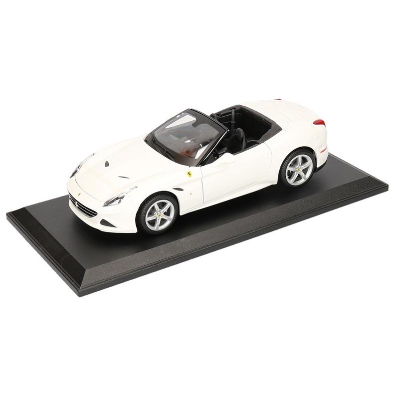 Geen Speelgoedauto Ferrari California T wit Speelgoedvoertuigen