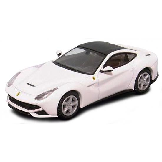 Speelgoedauto Ferrari F12 Berlinetta wit Bburago Premier