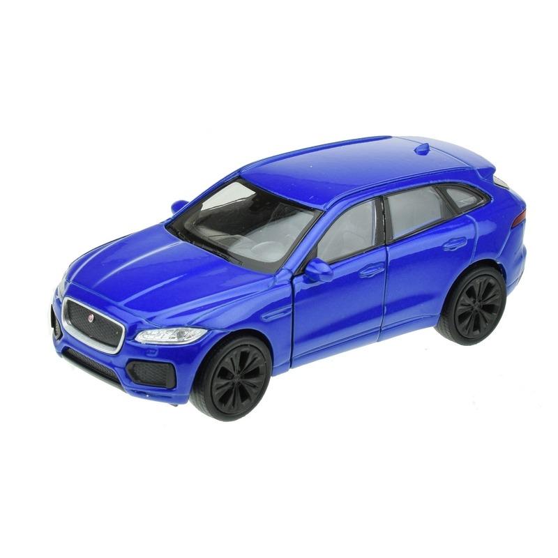 Speelgoedvoertuigen Speelgoedauto Jaguar F pace blauw 1 34