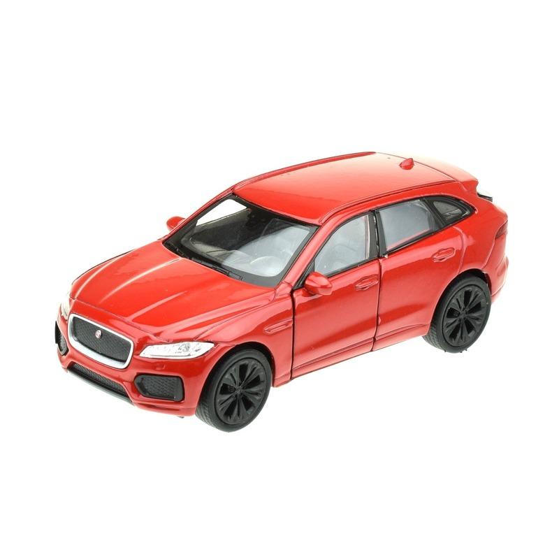 Speelgoedauto Jaguar F pace rood 1 34 Welly Beste koop