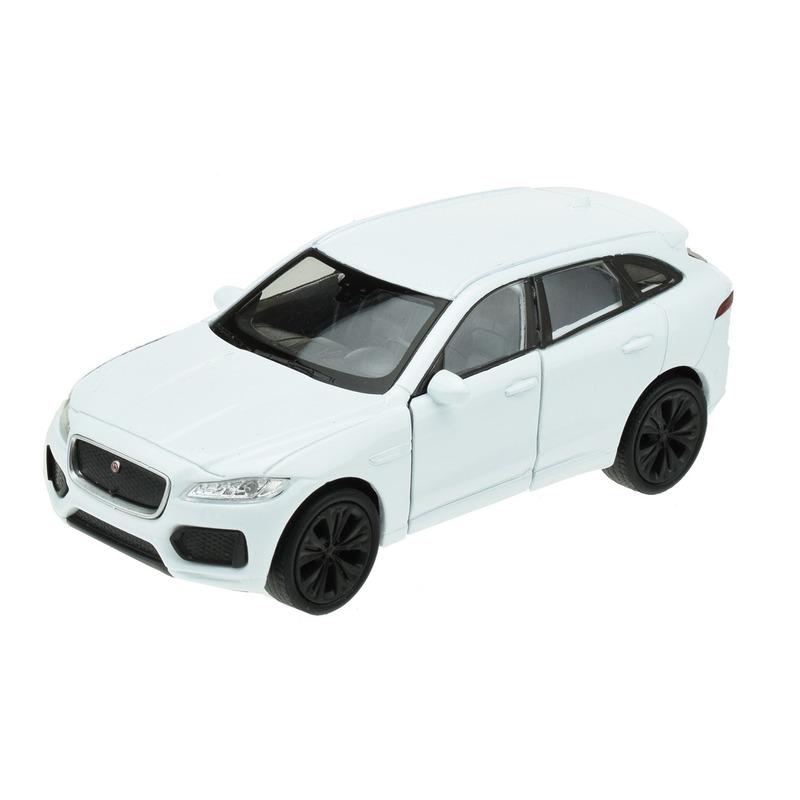 Speelgoedauto Jaguar F pace wit 1 34 Welly Speelgoedvoertuigen